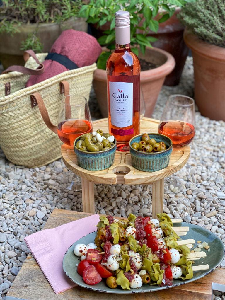 White Zinfandel Rosé van Gallo Family Vineyards